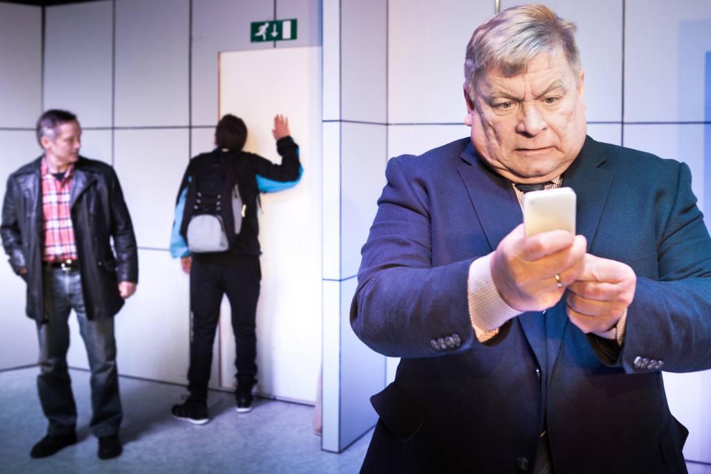 Iŋgor Ántte Áilu Gaup, Nils Henrik Buljo, Egil Keskitalo (Photo: Aslak Mikal Mienna)